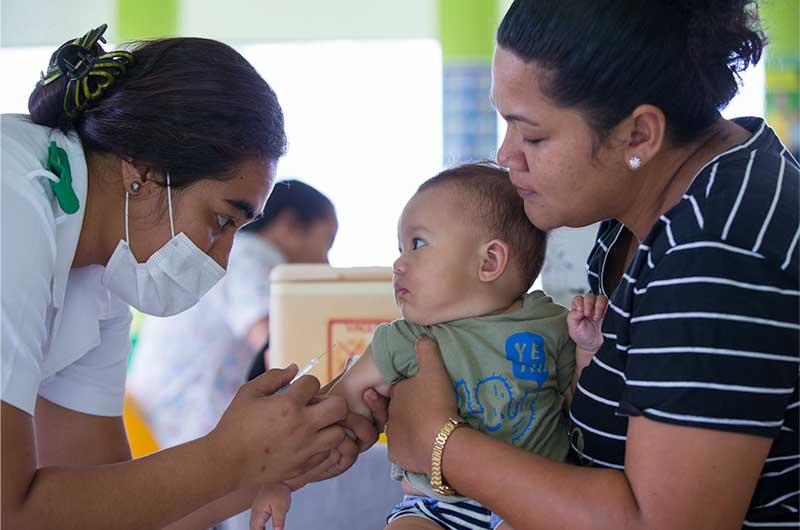 Measle in Samoa
